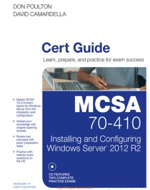 MCSA 70 410 Cert Guide R2