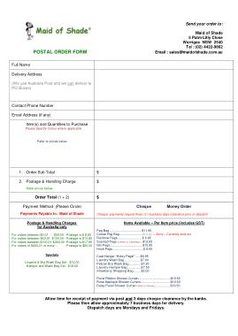 Free Download PDF Books, Postal Money Order Form Template