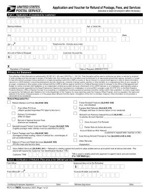 Free Download PDF Books, Postal Order Refund Form Template