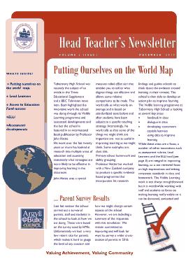 Free Download PDF Books, Head Teacher Newsletter Template
