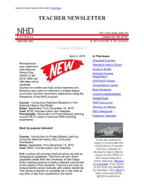 Free Download PDF Books, Sample Teacher Newsletter Template