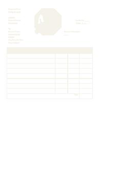 Free Download PDF Books, Blank Plumbing Receipt Template