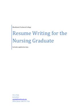 Free Download PDF Books, Sample Nurse Resume Cover Letter Template