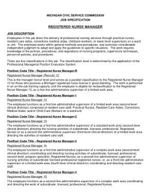 Free Download PDF Books, Nurse Manager Resume Template