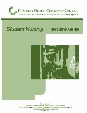Free Download PDF Books, Printable Nurse Resume Template