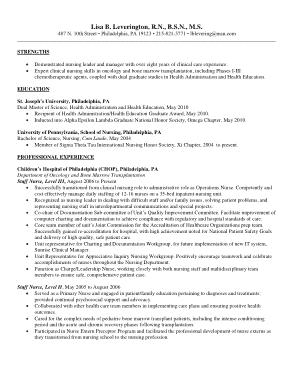 Free Download PDF Books, Registered Nurse Resume Example Template