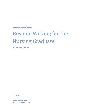 Free Download PDF Books, Registered Nurse Resume Sample Template