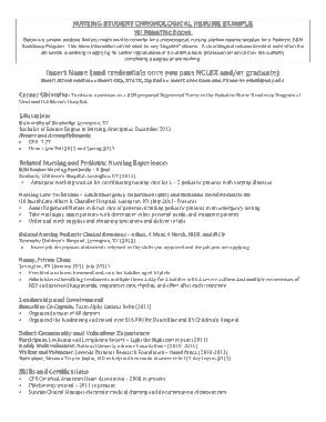 Free Download PDF Books, Student Nurse Resume Objective Template