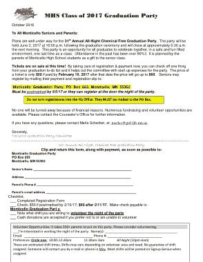 Free Download PDF Books, Graduation Party Program Template