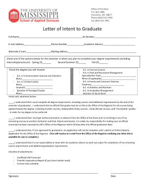 Free Download PDF Books, Letter of Intent Graduate School Template
