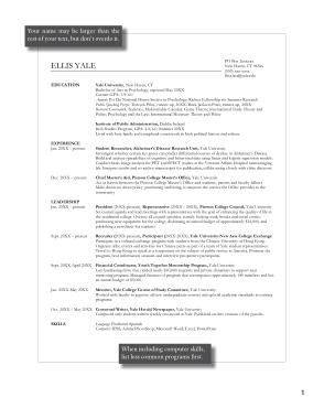 College Student Graduate Resume Example Template