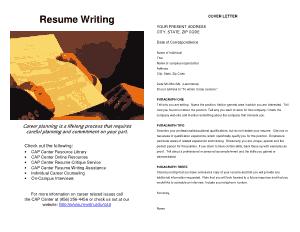 Simple College Graduate Resume Template
