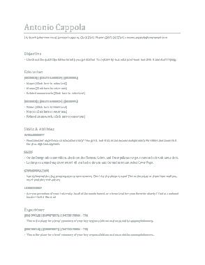 Free Download PDF Books, Professional Graduate Resume Template