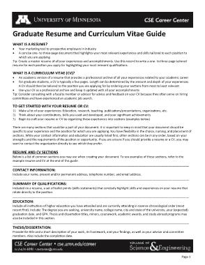 Free Download PDF Books, Sample Graduate Resume Template