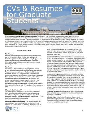 Free Download PDF Books, Graduate School Student Resume Template