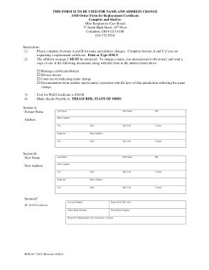 Free Download PDF Books, Address Change Affidavit Form Template