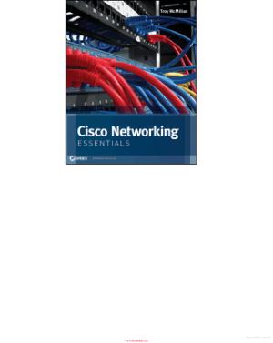 Cisco Networking Essentials, Pdf Free Download