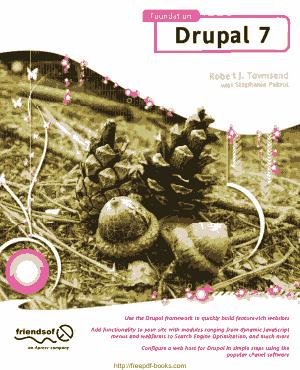 Free Download PDF Books, Foundation Drupal 7