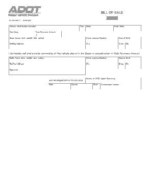 Free Download PDF Books, Arizona Motor Vehicle Bill of Sale Form 48 2004 Form Template
