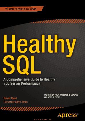 Healthy SQL