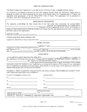 Free Download PDF Books, Missouri Rental Application Form Template