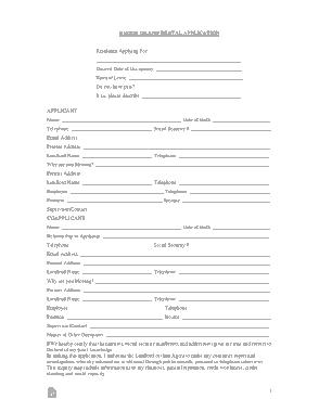 Free Download PDF Books, Rhode Island Rental Application Form Template