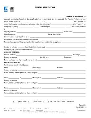 Free Download PDF Books, South Carolina Rental Application Form Template