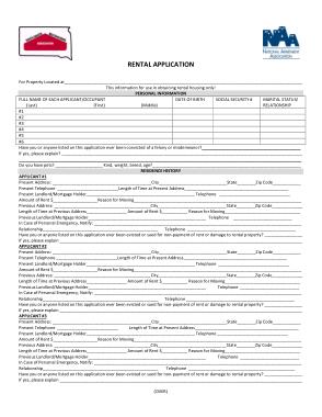 Free Download PDF Books, South Dakota Rental Application Form