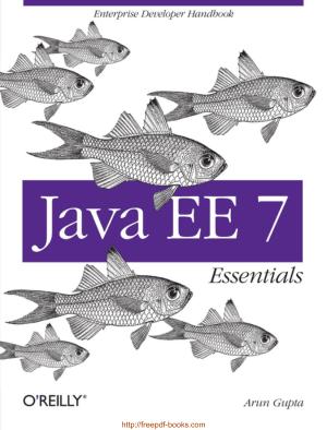 Java Ee 7 Essentials, Java Programming Book