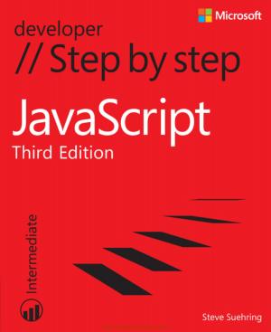 Javascript Step By Step 3rd Edition Book, Javascript Programming Tutorial Book