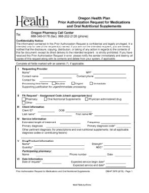 Free Download PDF Books, Oregon Medicaid Prior Authorization Form Template