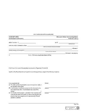 Free Download PDF Books, Minnesota General Warranty Deed Form Template