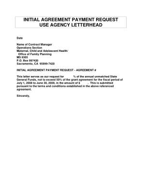 Urgent Payment Request Letter Template