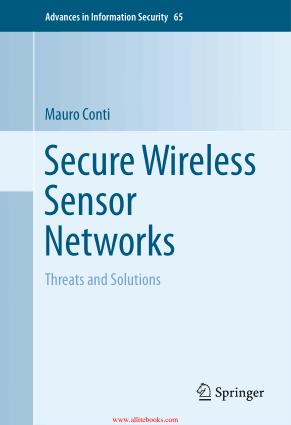 Secure Wireless Sensor Networks