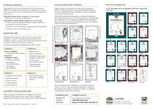 Free Download PDF Books, Birth Certificate Application Template