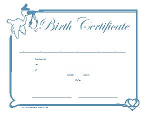 Free Download PDF Books, Birth Certificate Sample Application Template