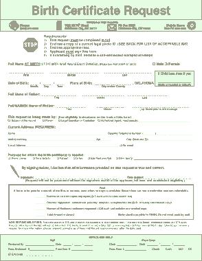 Free Download PDF Books, Downloadable Birth Certificate Template