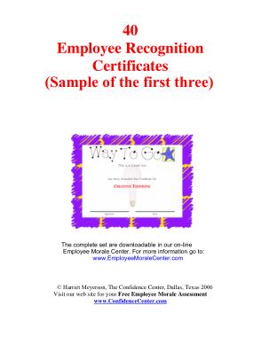 Certificate of Appreciation Free Template