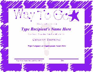 Employee Recognition Appreciation Award Certificate Template