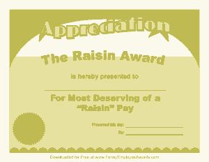 Free Download PDF Books, Funny Certificate of Appreciation Template