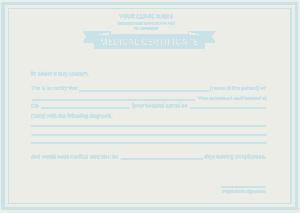 Free Download PDF Books, Hearing Service Program Medical Certificate Template