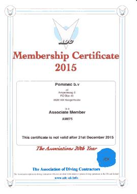 Free Download PDF Books, Membership Certificate 2015 Sample Template