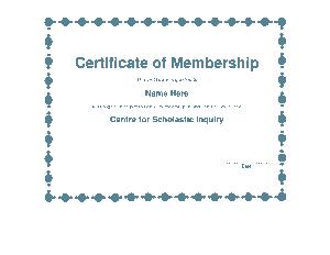 Free Download PDF Books, Scholastic Membership Certificate Template