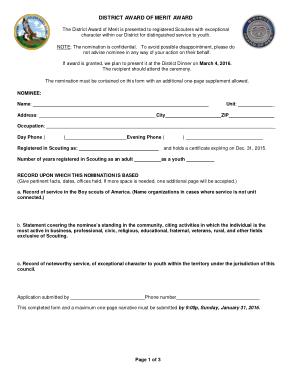 Free Download PDF Books, District Award Merit Certicate Template
