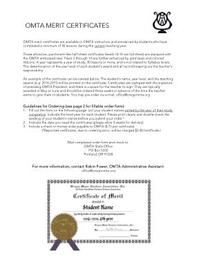 Free Download PDF Books, Student Merit Certificate Template