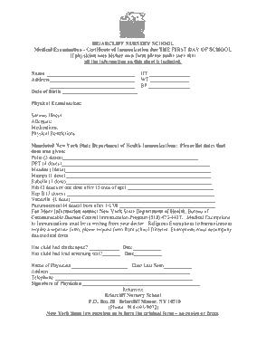 Free Download PDF Books, Nursery School Certificate Template