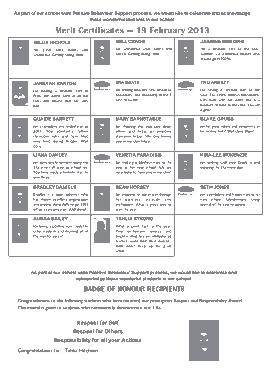 Free Download PDF Books, School Merit Certificate Template