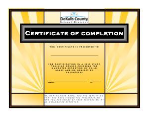 Free Download PDF Books, Volunteer Training Certificate PDF Template