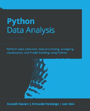 Free Download PDF Books, Python Data Analysis 3rd Edition (2021)