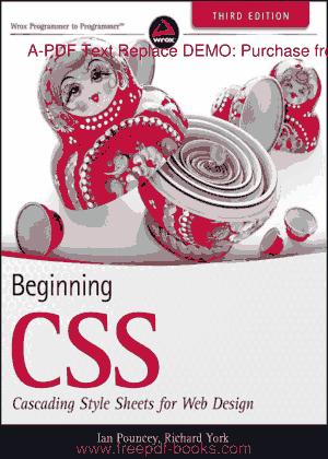 Beginning CSS For Web Design Third Edition